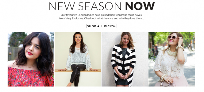 Talking New Season Must-Haves with Very Exclusive