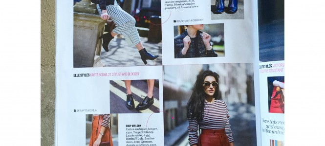 Streetstyling with ELLE Magazine| August Issue