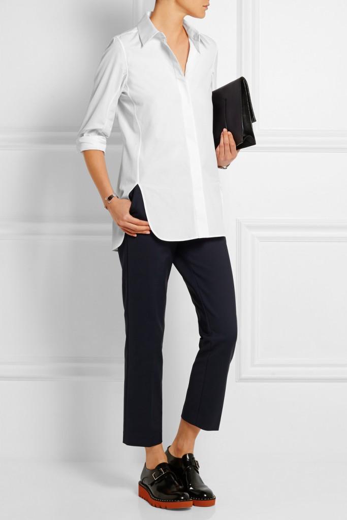 Jil Sander | Veronica Cotton Poplin Shirt | £320
