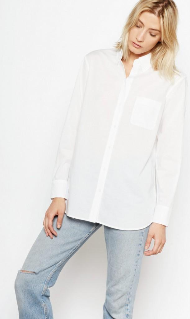 Equipment | Margaux Shirt in Bright White | $168