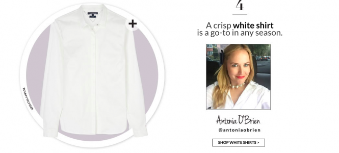 All White | My Love of the White Shirt